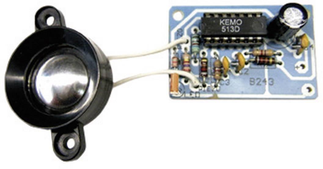 Modul odpuzovače kun a havěti Kemo B243, 29 x 45 mm, 23 kHz