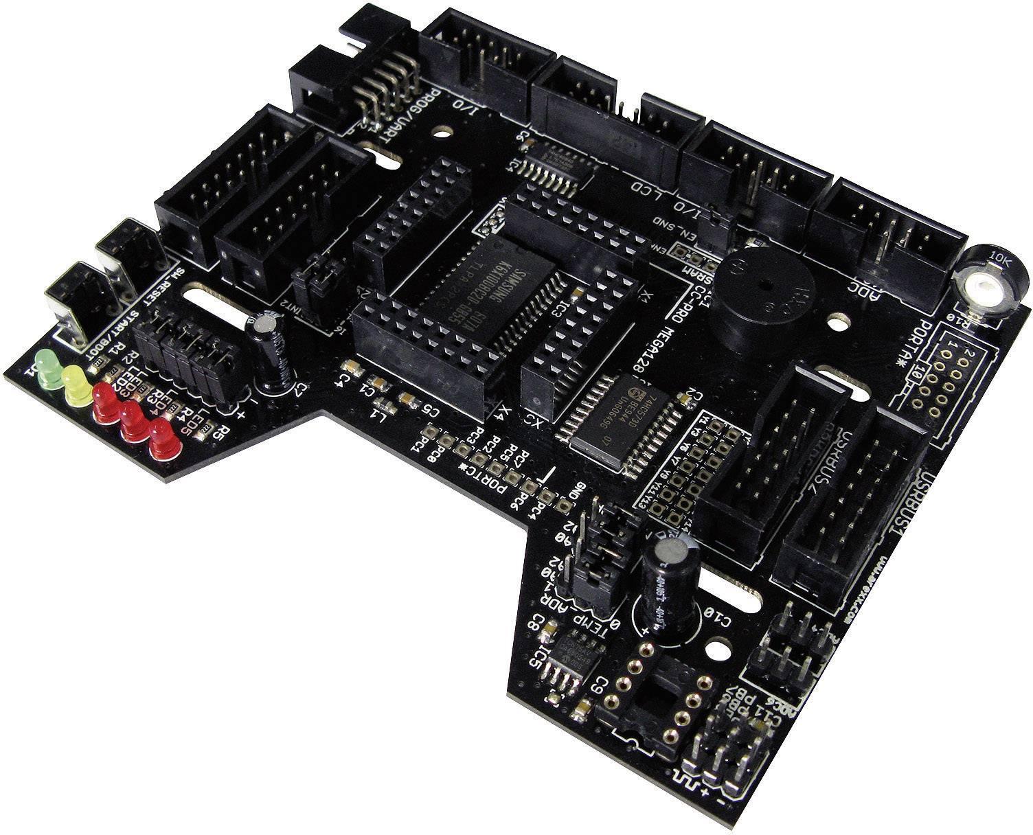 Rozširujúci modul Arexx RP6 CC-PRO MEGA128 RP6-CC128 Vhodný pre: RP6