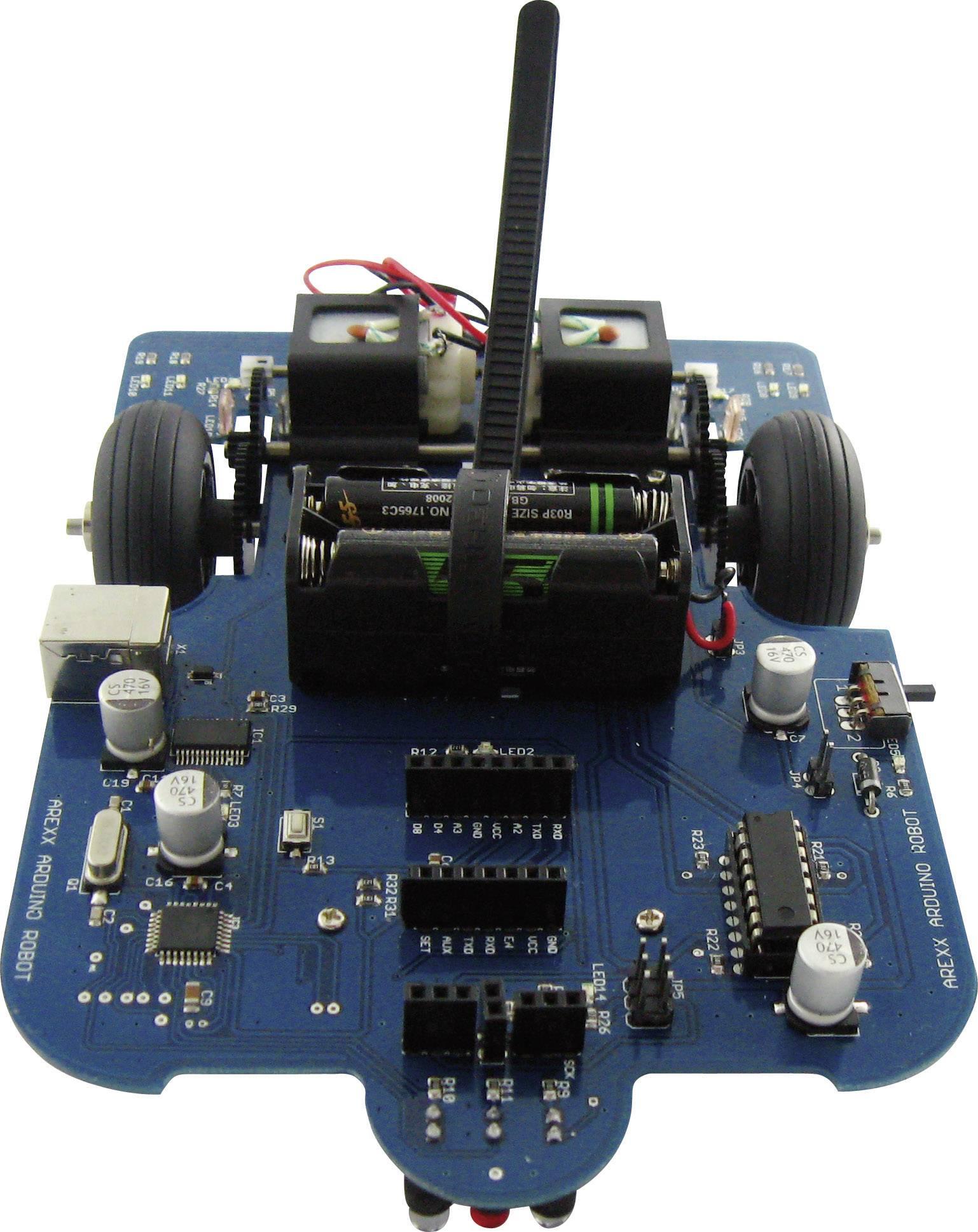 Stavebnice programovatelného Arduino robota, Arexx AAR-04