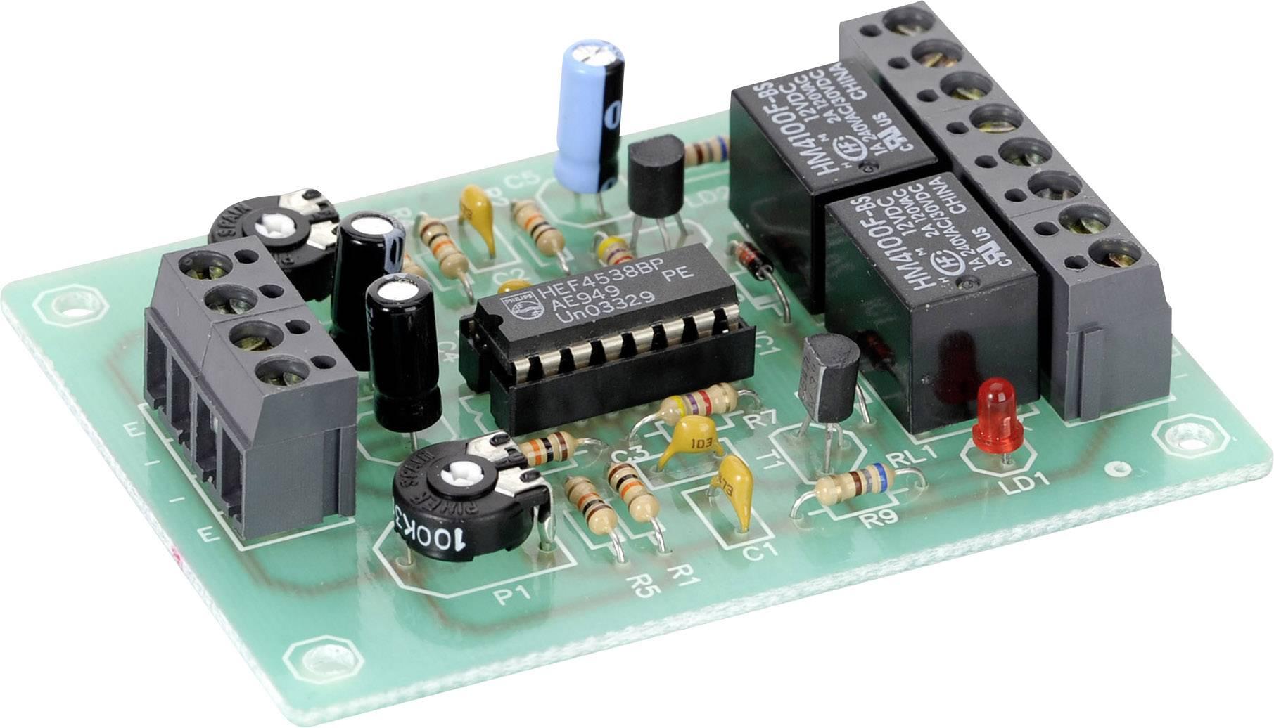 Mono prepínač stavebnica Conrad Components 191981 12 V/DC, 15 V/DC 0 - 10 s