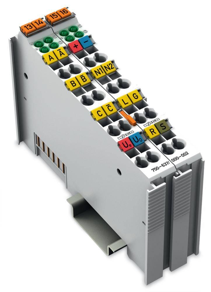 Inkrementální enkodér pro PLC WAGO 750-637/000-002 24 V/DC