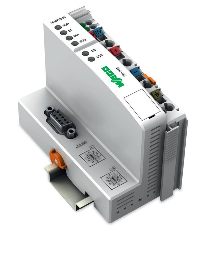 Přípojka sběrnice pro PLC WAGO 750-833 24 V/DC