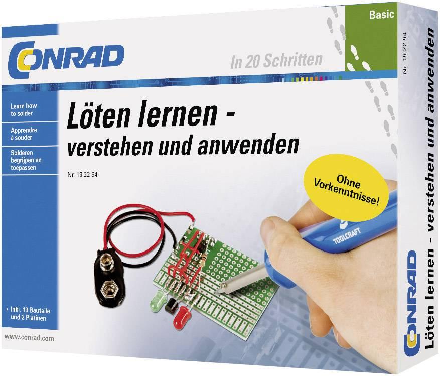 Výukovásada Conrad Components Basic Löten lernen 10062, od 14 rokov