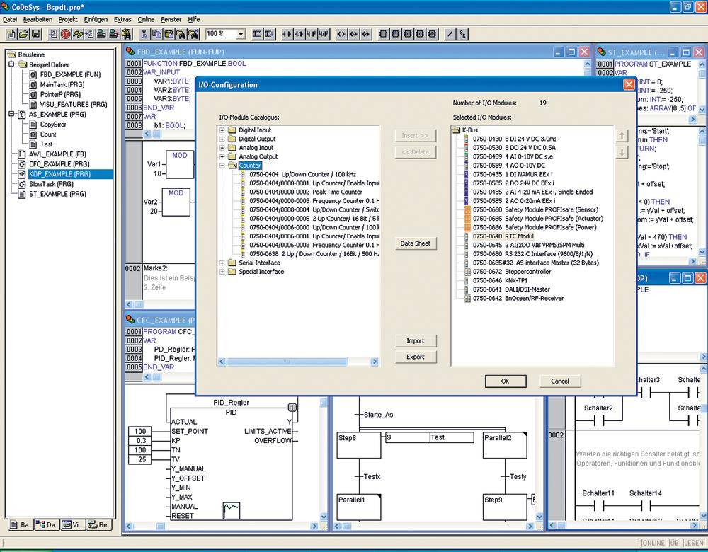 Software pro PLC WAGO 759-333 I/O-PRO CAA
