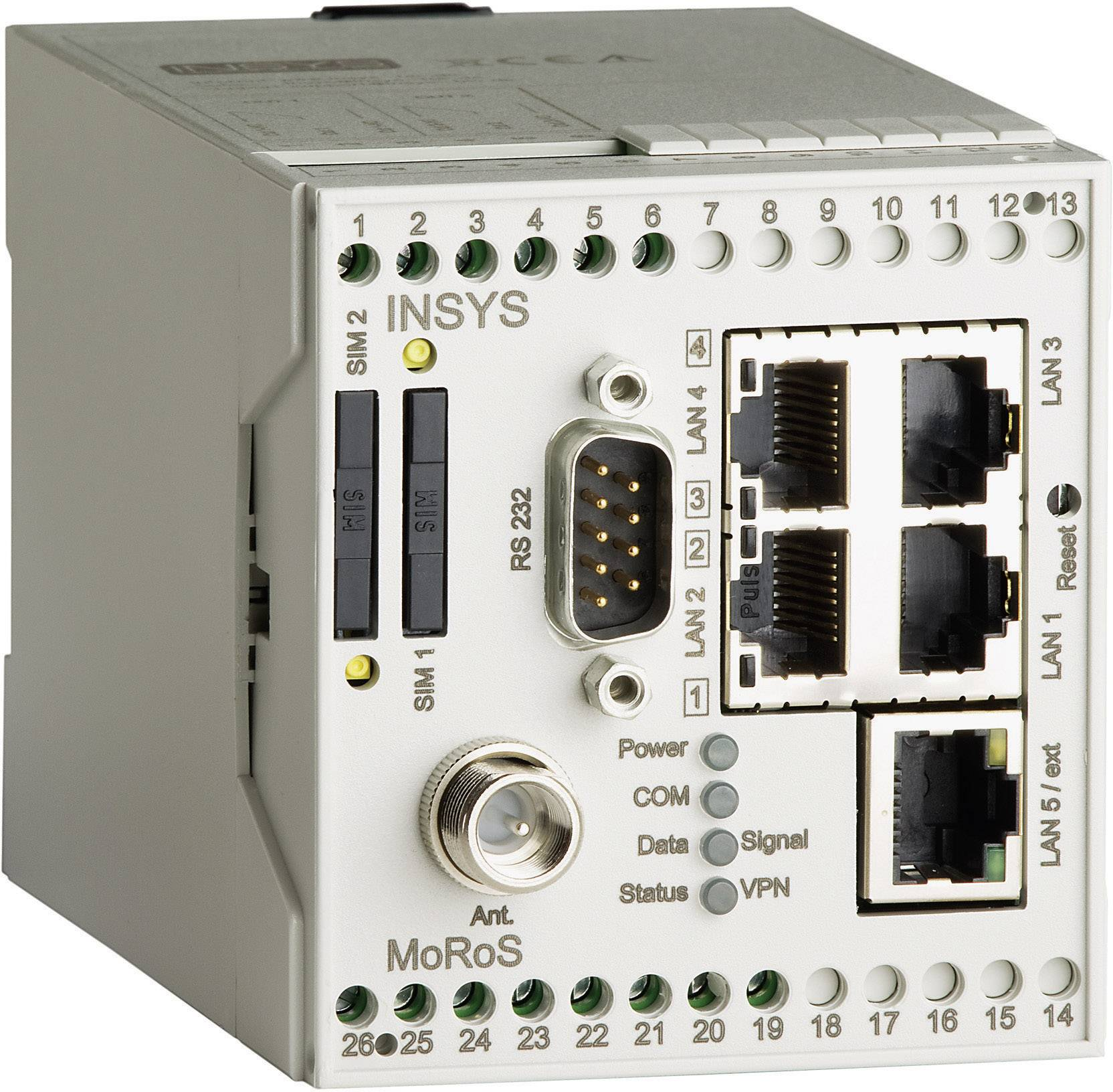 GPRS/HSPA router Insys 10000212, 110 x 70 x 75 mm