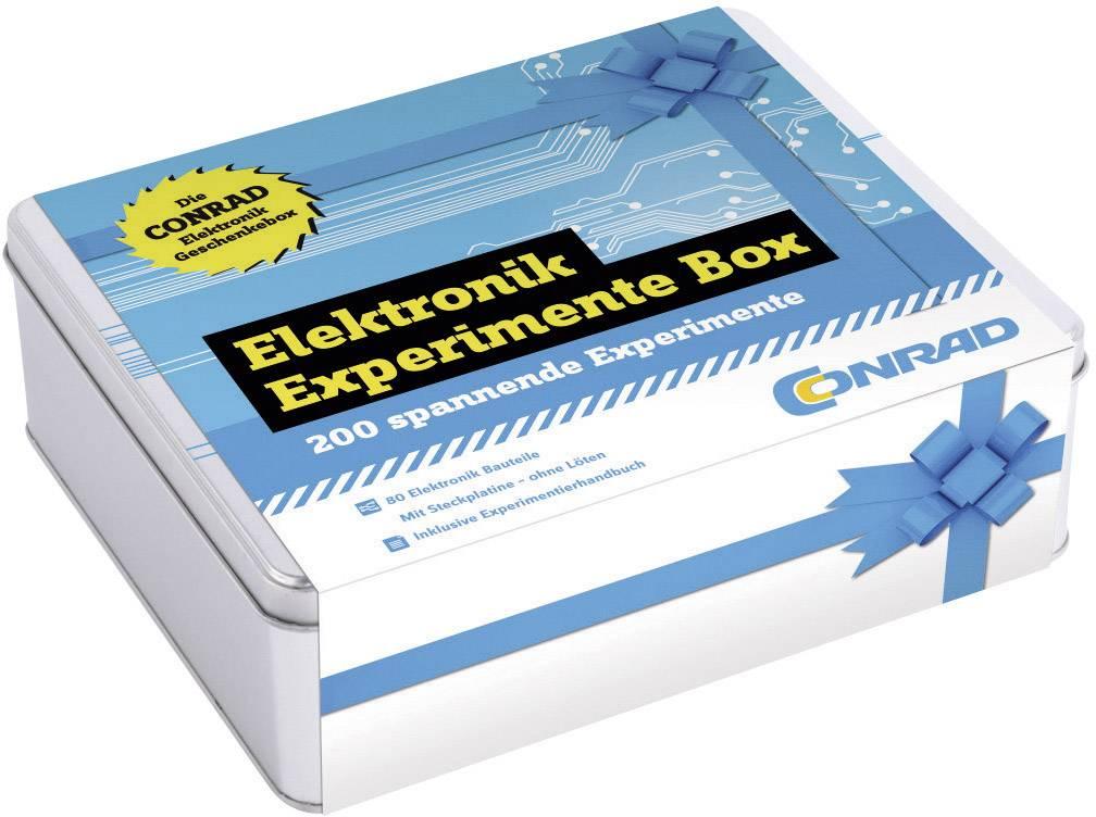 Experimentálny box Conrad Components Die große Elektronik Experimente Box 10113, od 14 rokov
