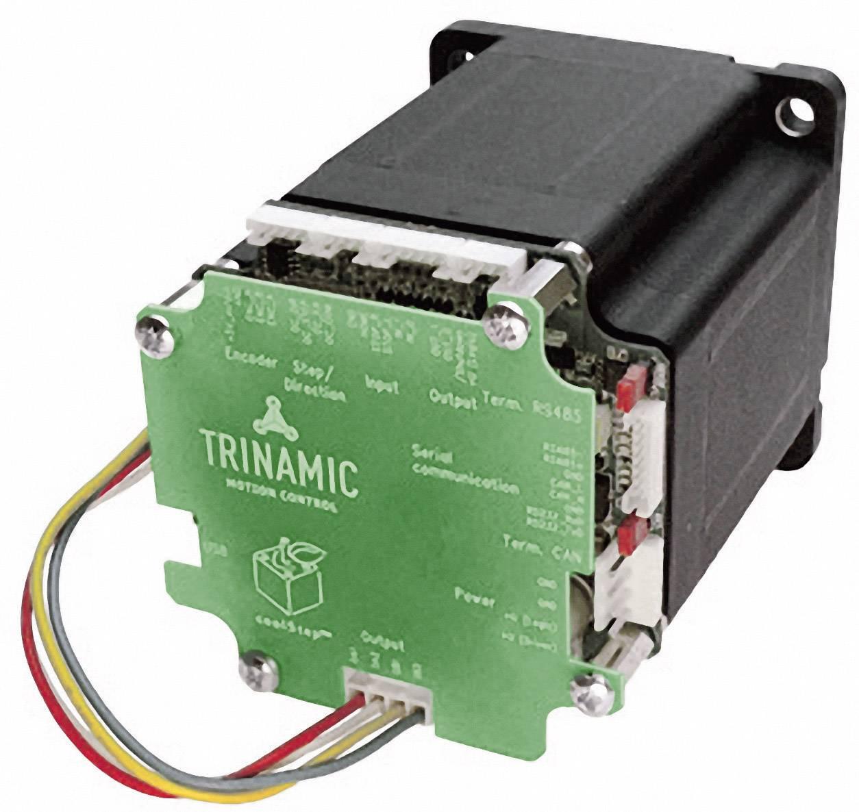 Krokový motor s řízením PANdrive Trinamic PD86-3-1180-TMCL (30-0164), Ø hřídele 12,7 mm