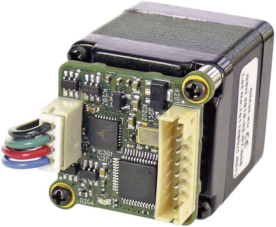 Krokový motor s řízením PANdrive Trinamic PD28-3-1021-TMCL (30-0180), Ø hřídele 5 mm
