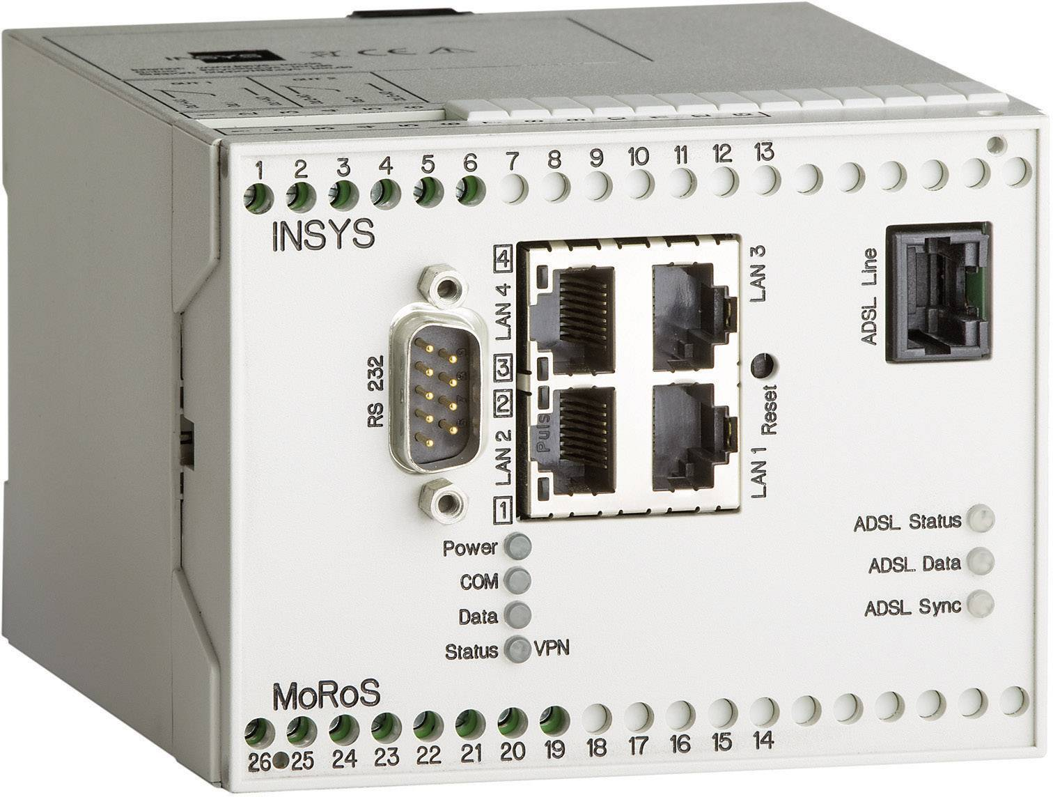 Router Insys MoRoS ADSL PRO 10000216, 110 x 100 x 75 mm