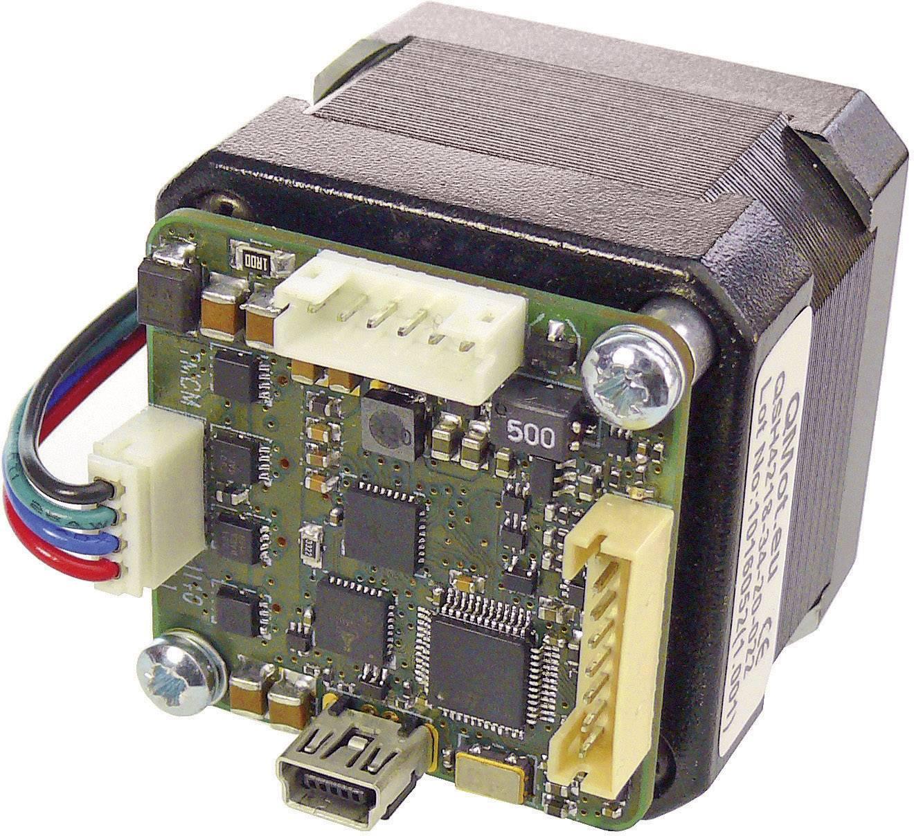 Krokový motor s řízením PANdrive Trinamic PD42-4-1140-TMCL (30-0188), Ø hřídele 5 mm