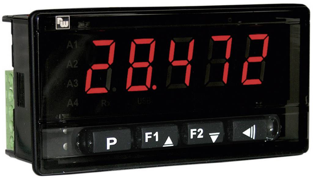 Univerzálny digitálny displej Wachendorff DA9602R0, 230 V/AC