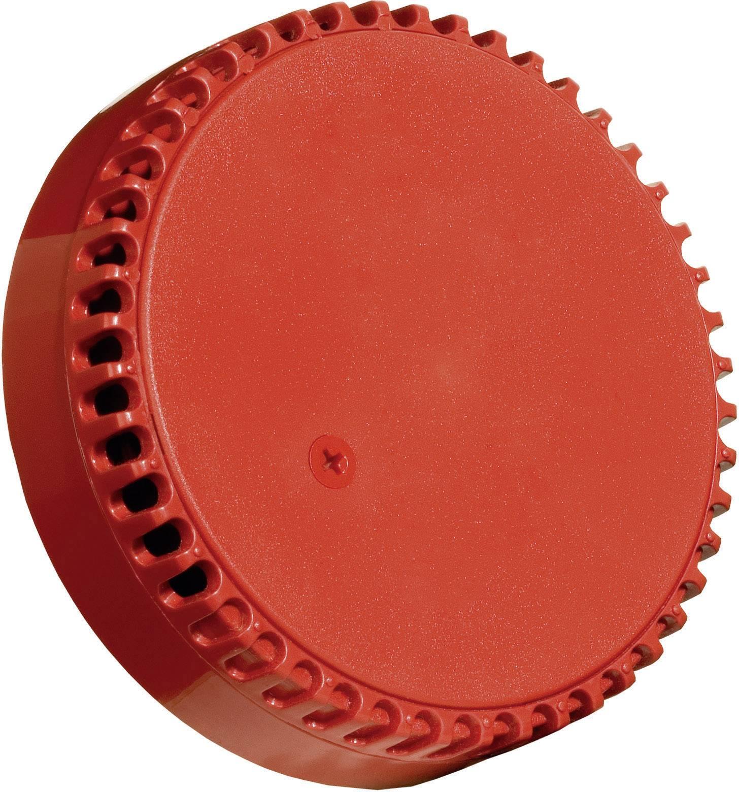 Signalizační siréna ComPro Squashni rot SQ/R, stálý tón, 12 V/DC, 24 V/DC, 102 dB, IP21