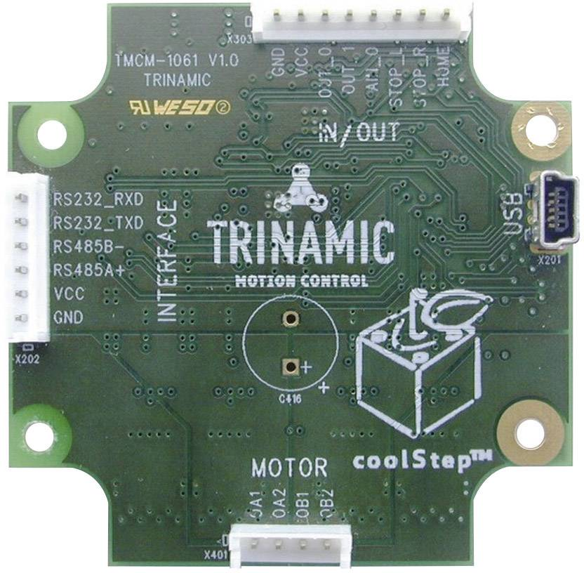 Regulátor krokového motora Trinamic TMCM-1161, 2.8 A