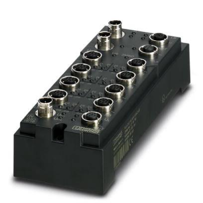 Přípojka sběrnice pro PLC Phoenix Contact FLM DIO 16/16 M12/8-DIAG 2736738 24 V/DC