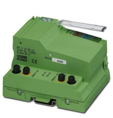 Rozšiřující modul pro PLC Phoenix Contact IBS IL 24 BK-LK-PAC 2861218, 1 ks
