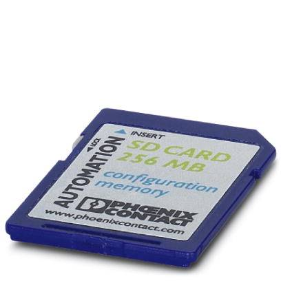 Paměťový modul pro PLC Phoenix Contact SD FLASH 2GB, 2988162 1 ks