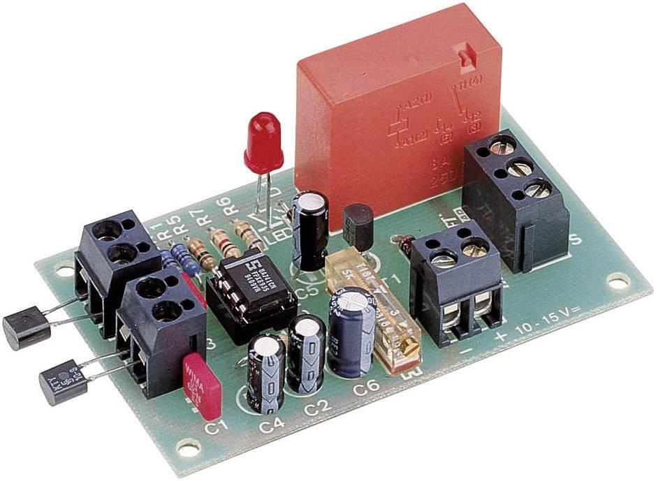 Zapojení pro rozdílové měření teploty, -5 až 100 °C, 10 - 15 V/DC
