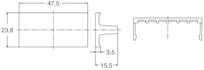Ochraná objímka Panasonic pro regulátor teploty KT2