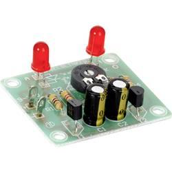Nastavitelný blikač s LED diodou, stavebnice