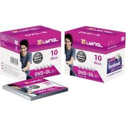 DVD+R DL 8.5 GB Xlyne 4J10000, 10 ks, Jewelcase