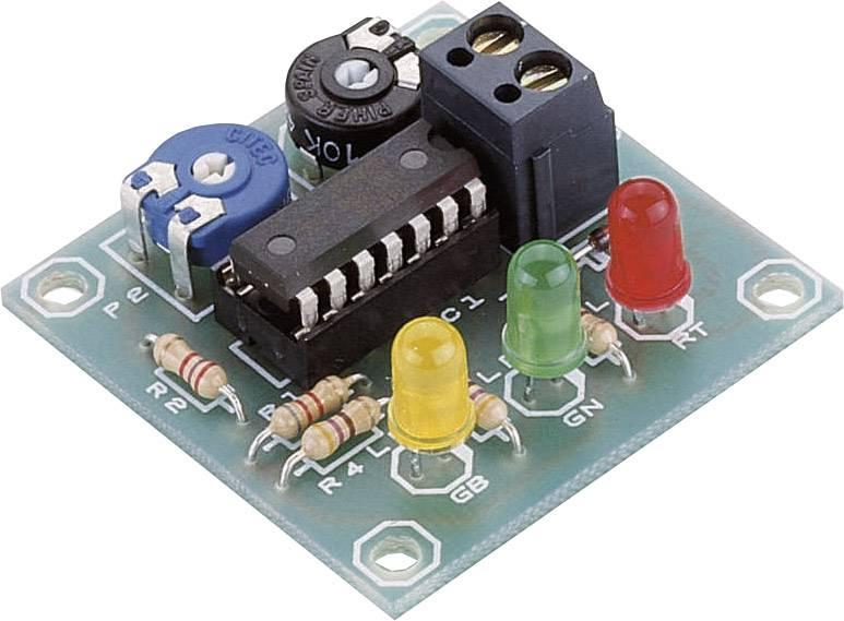 Senzorový modul pro sledování stavu autobaterie 12 V/DC