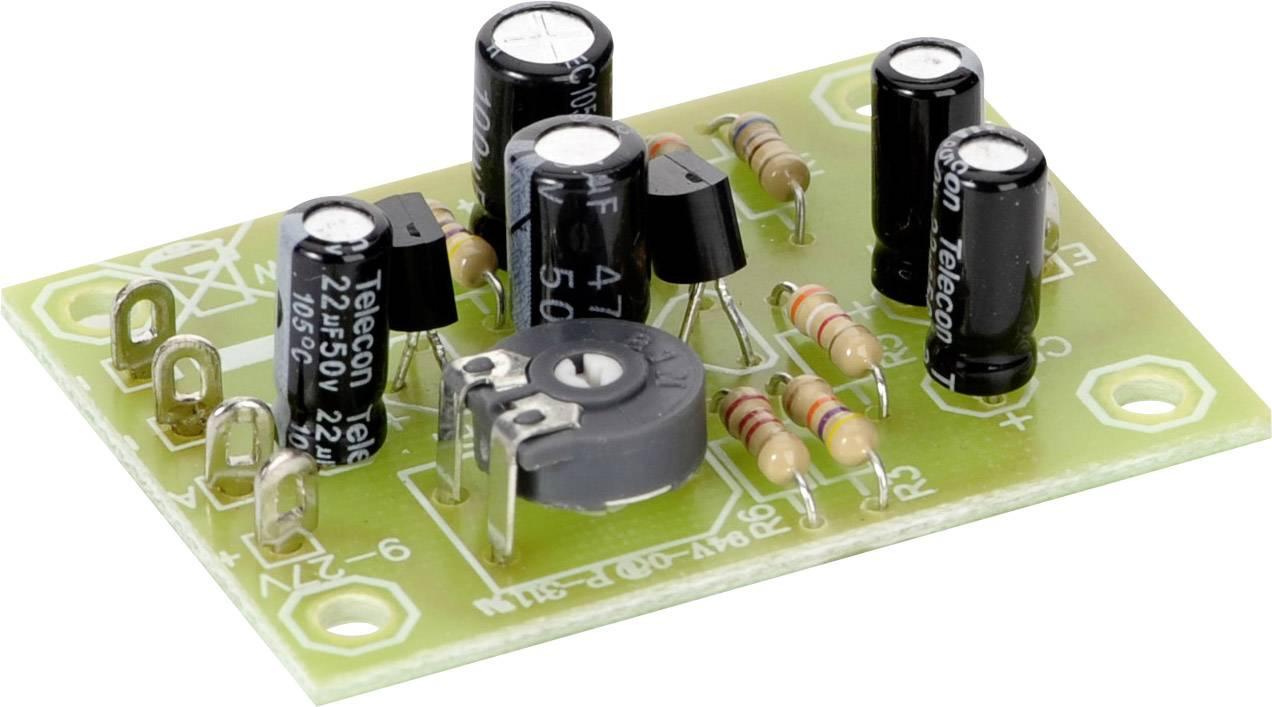 Predzosilňovač Conrad Components 9 V/DC, 12 V/DC, 24 V/DC, stavebnica