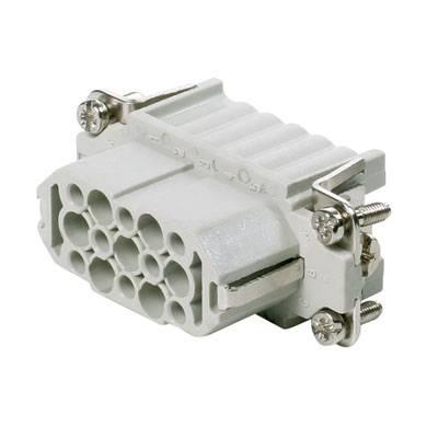 Konektorová vložka, zásuvka Weidmüller HDC HD 15 FC 1650660000, 15, krimpované, 1 ks