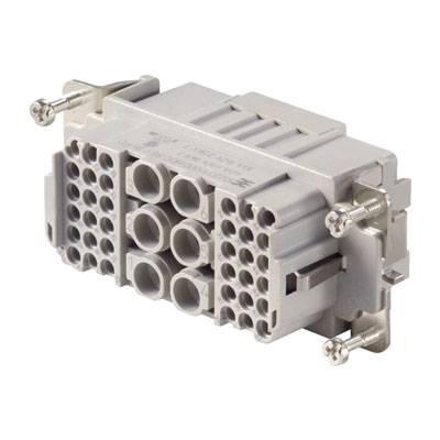 Konektorová vložka, zásuvka Weidmüller 1023310000, 6, 36, krimpované, 1 ks