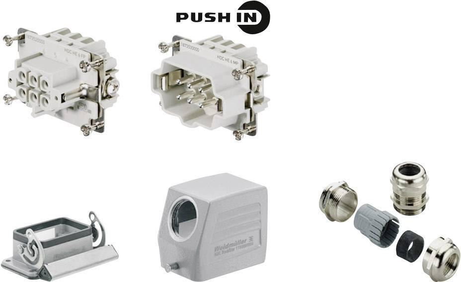 Sada konektoru RockStar® HDC HE Weidmüller 1027650000 1 ks