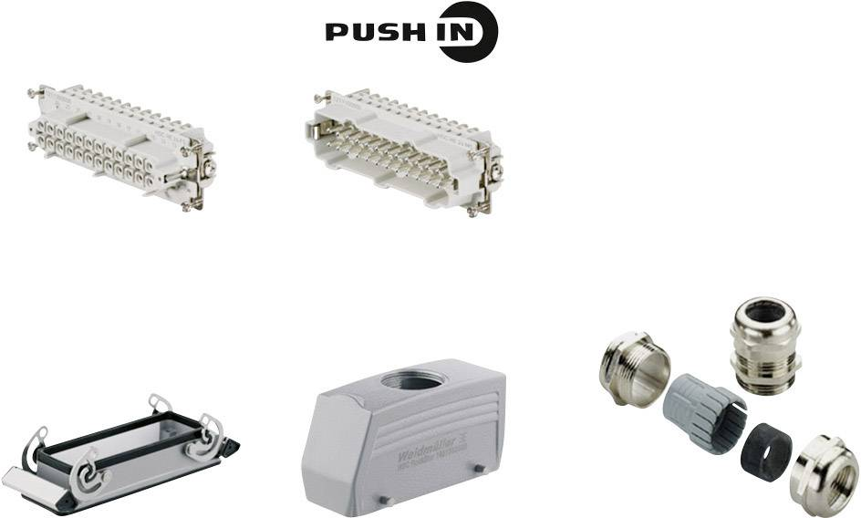 Sada konektorů RockStar® HDC HE Weidmüller 1061700000 1 ks