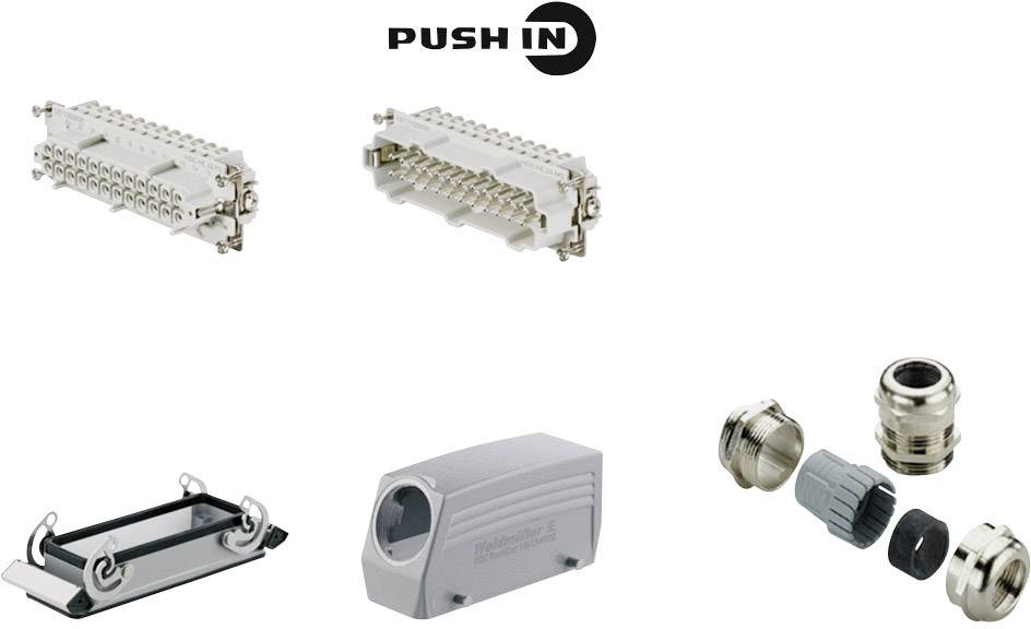 Sada konektoru RockStar® HDC HE Weidmüller 1061780000 1 ks