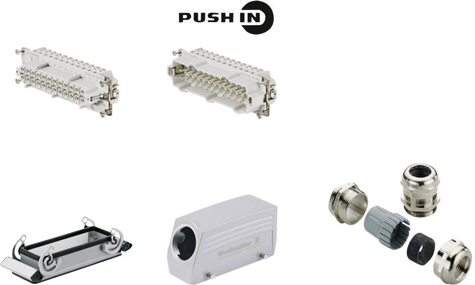 Sada konektoru RockStar® HDC HE Weidmüller 1061790000 1 ks