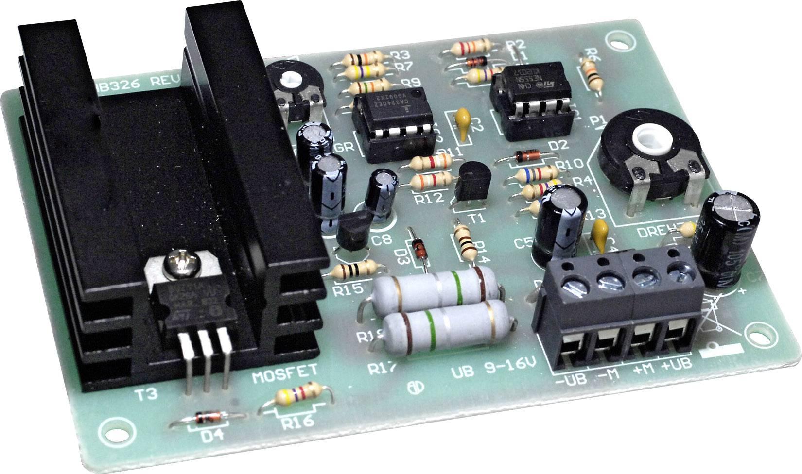 Regulátor otáček 5 A pro stejnosměrné motory