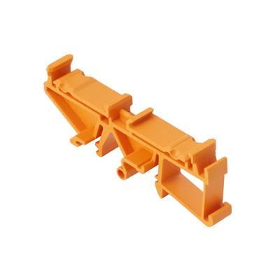 Montážní patice pouzdra na DIN lištu Weidmüller PF RS 100 BK SET 160MM 109 x 24 , 1 ks