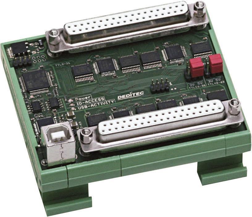 I/O modul Deditec USB-TTL-64 USB, 64 digitálních vstupů