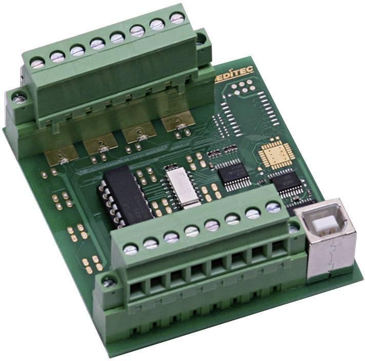 USB modul, Deditec USB-OPTOIN-8_B, galvanicky oddělené vstupy