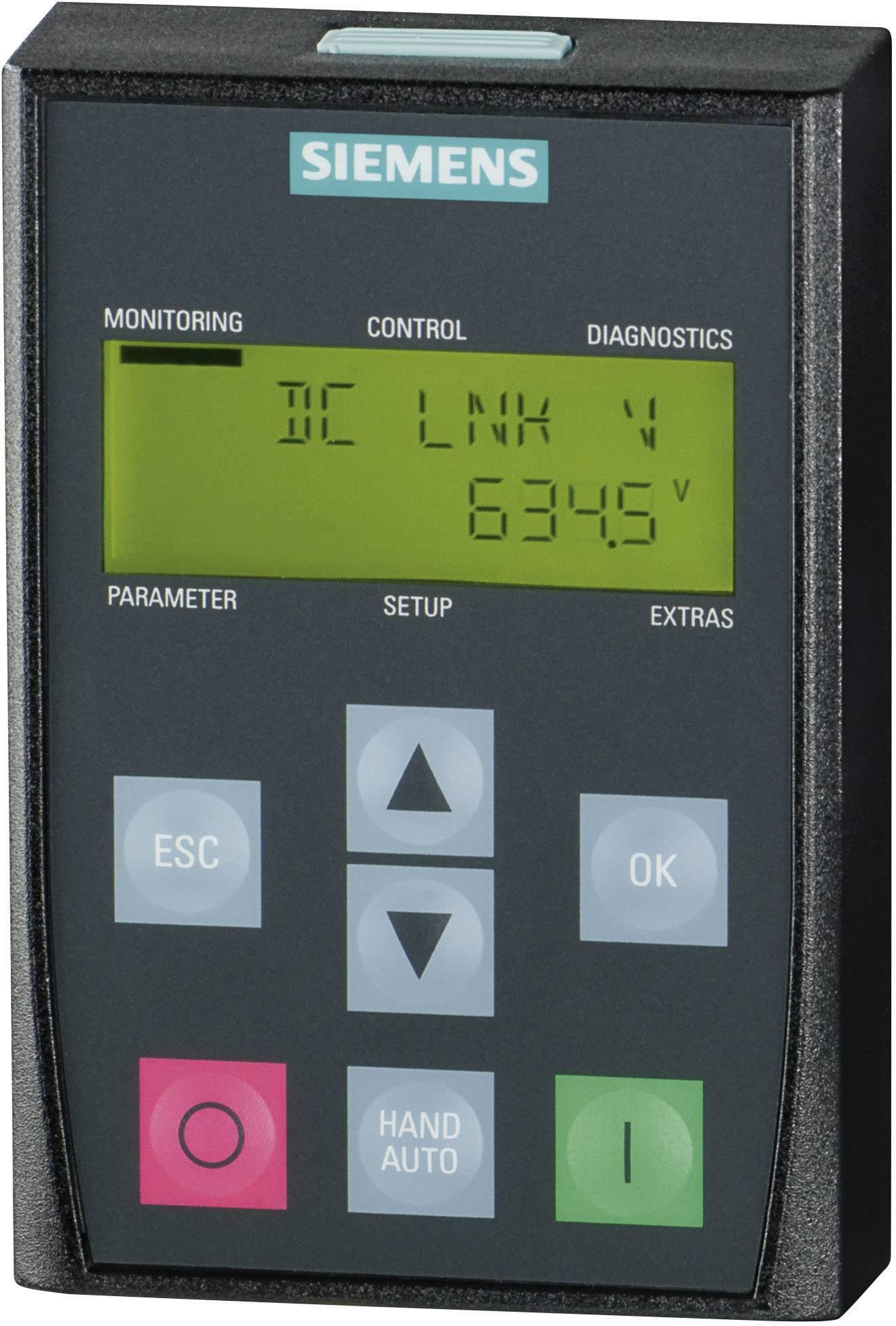 Obslužné pole Basic Operator Panel Siemens SINAMICS G120 BOP (6SL3255-0AA00-4CA1)