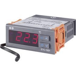 Panelový termostat Voltcraft ETC-100+, 71 x 30 mm, 1 relé pro chlazení