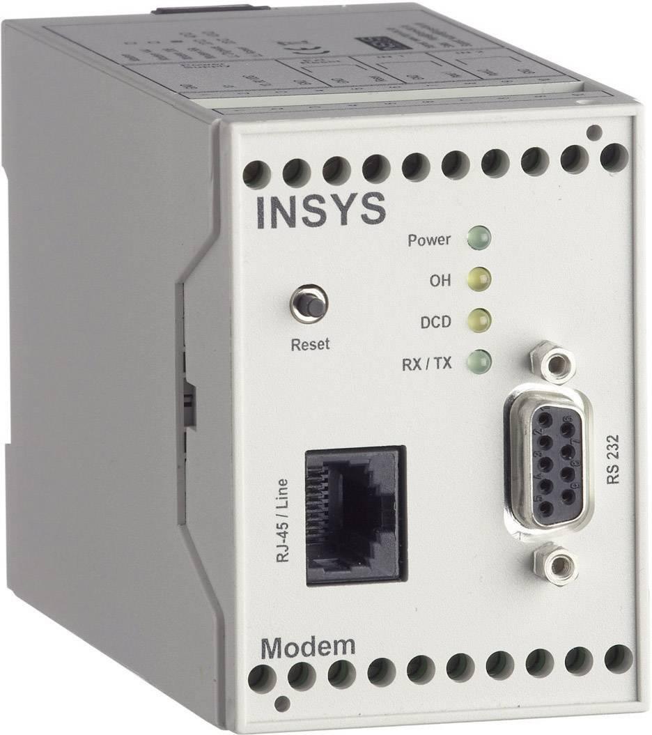Modem INSYS 56 kBit/s rozhraní RS232 10-60 V/DC 11-03-01-01-40,028