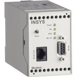 Modem Insys 11-03-01-01-40.028, 0,25 A, max. 56 kBit/s, 110 x 55 x 75 mm