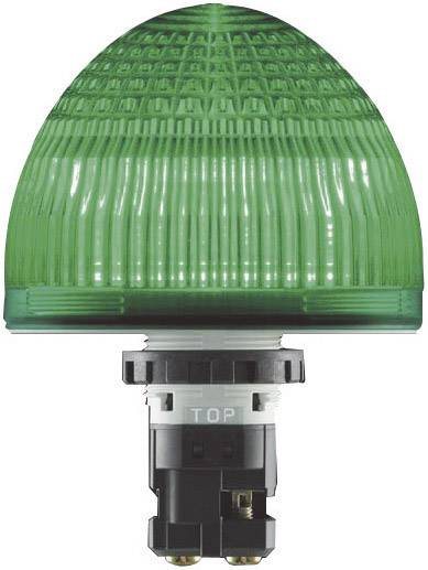 LED žárovka Idec Jumbo-Dome HW1P-5Q4Y, 24 V / AC/DC, IP65, žlutá