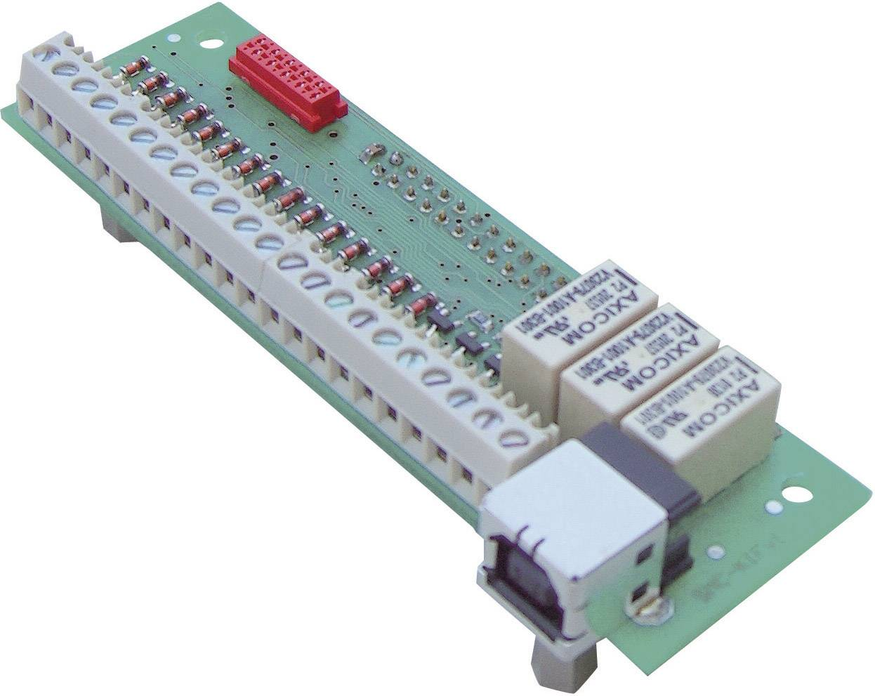 Vstupní/výstupní modul Emis SMCflex-I/O, napájení před základovou desku