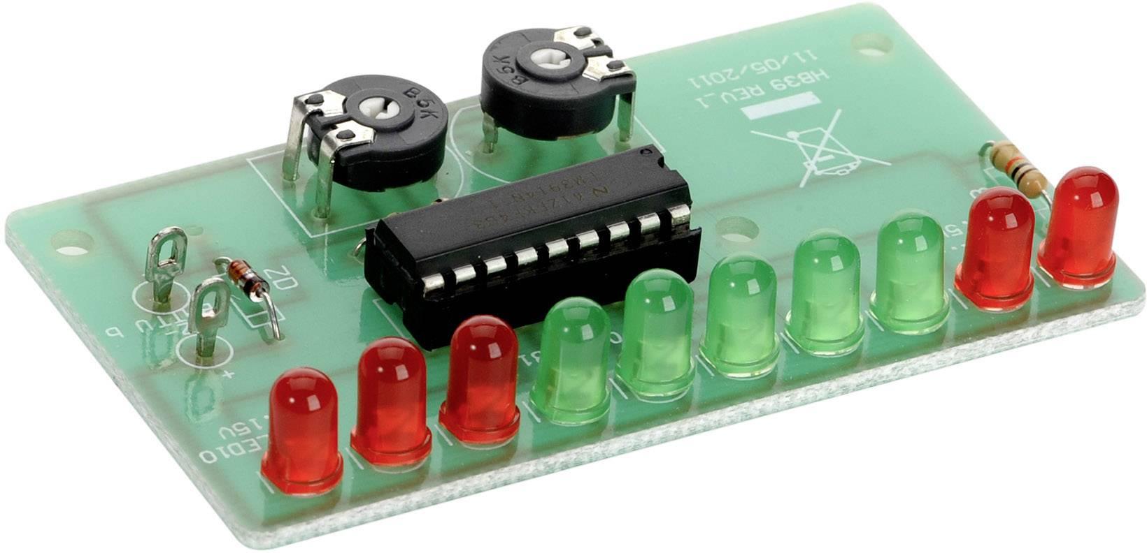 LED ukazatel stavu nabití baterie v automobilu 12 V/DC