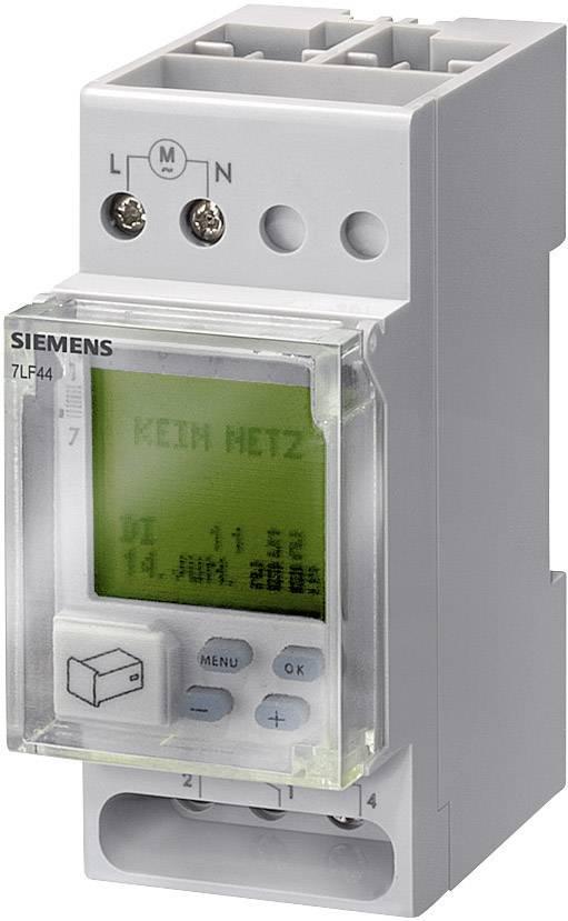 Časovač na DIN lištu Siemens 7LF4522-0, 230 V/AC, 16 A/250 V