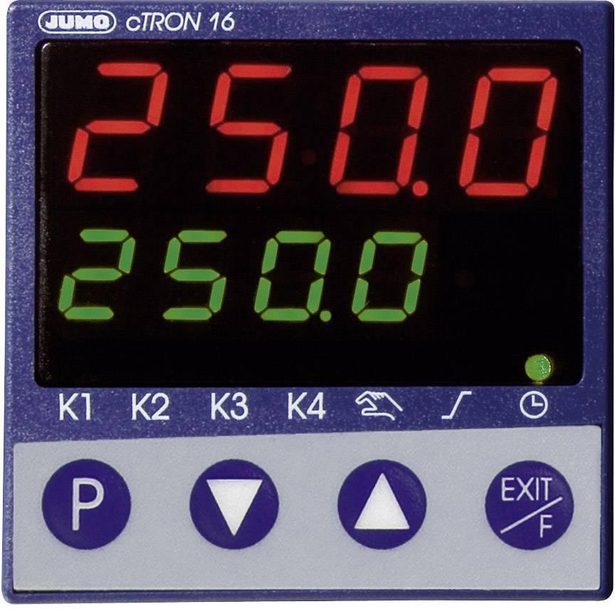 Panelový termostat Jumo cTRON 16, 110 - 240 V/DC, 48 x 48 mm, trojstupňový