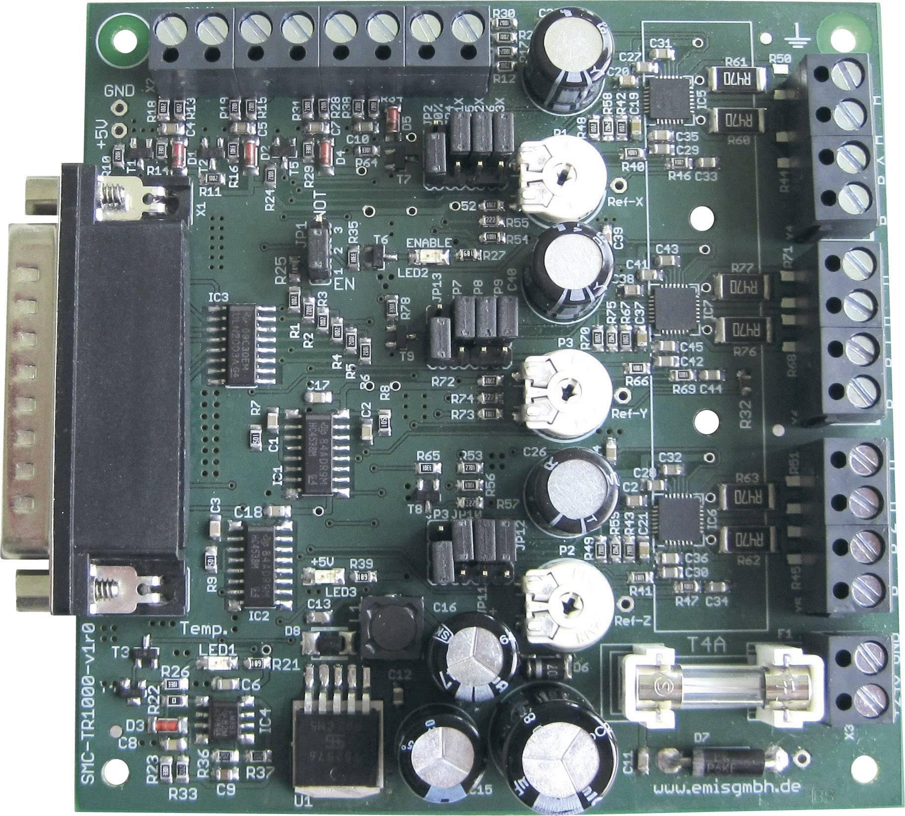 Řídicí karta 3osého krokového motoru Emis SMC-TR-1000