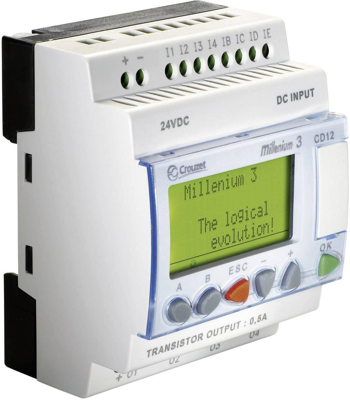 Riadiacimodul Crouzet Millenium 3 CD12 S 88970042, 24 V/DC