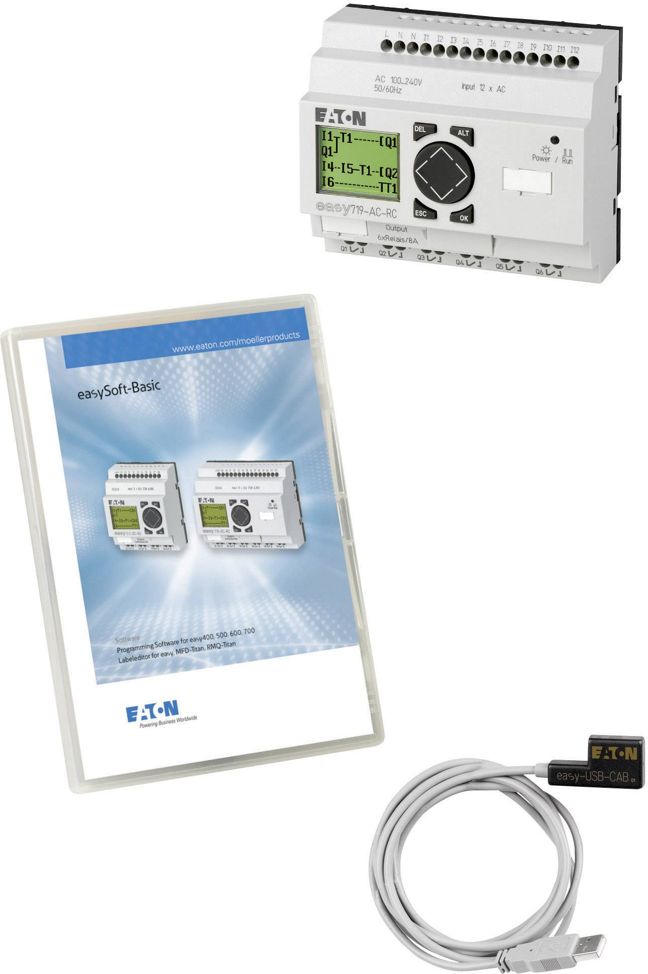 Základní sada Easy Mini Box USB, Eaton 116564, 115 V/AC, 230 V/AC