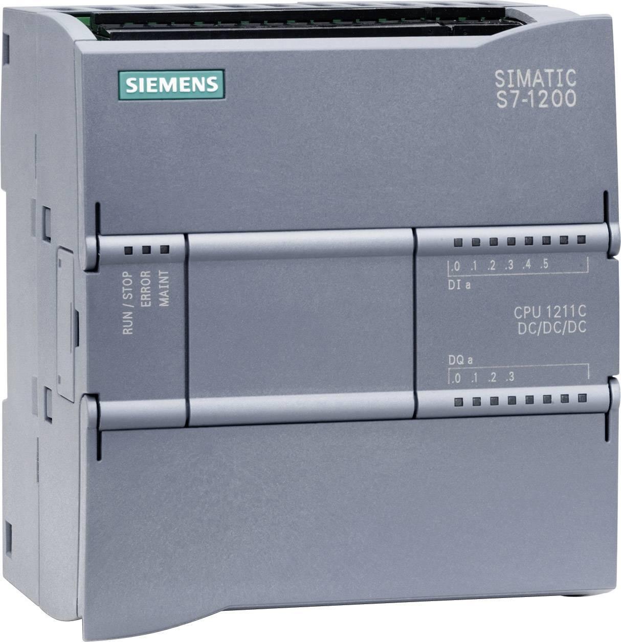 Řídicí reléový PLC modul Siemens CPU 1211C DC/DC/DC (6ES7211-1AE31-0XB0), IP20