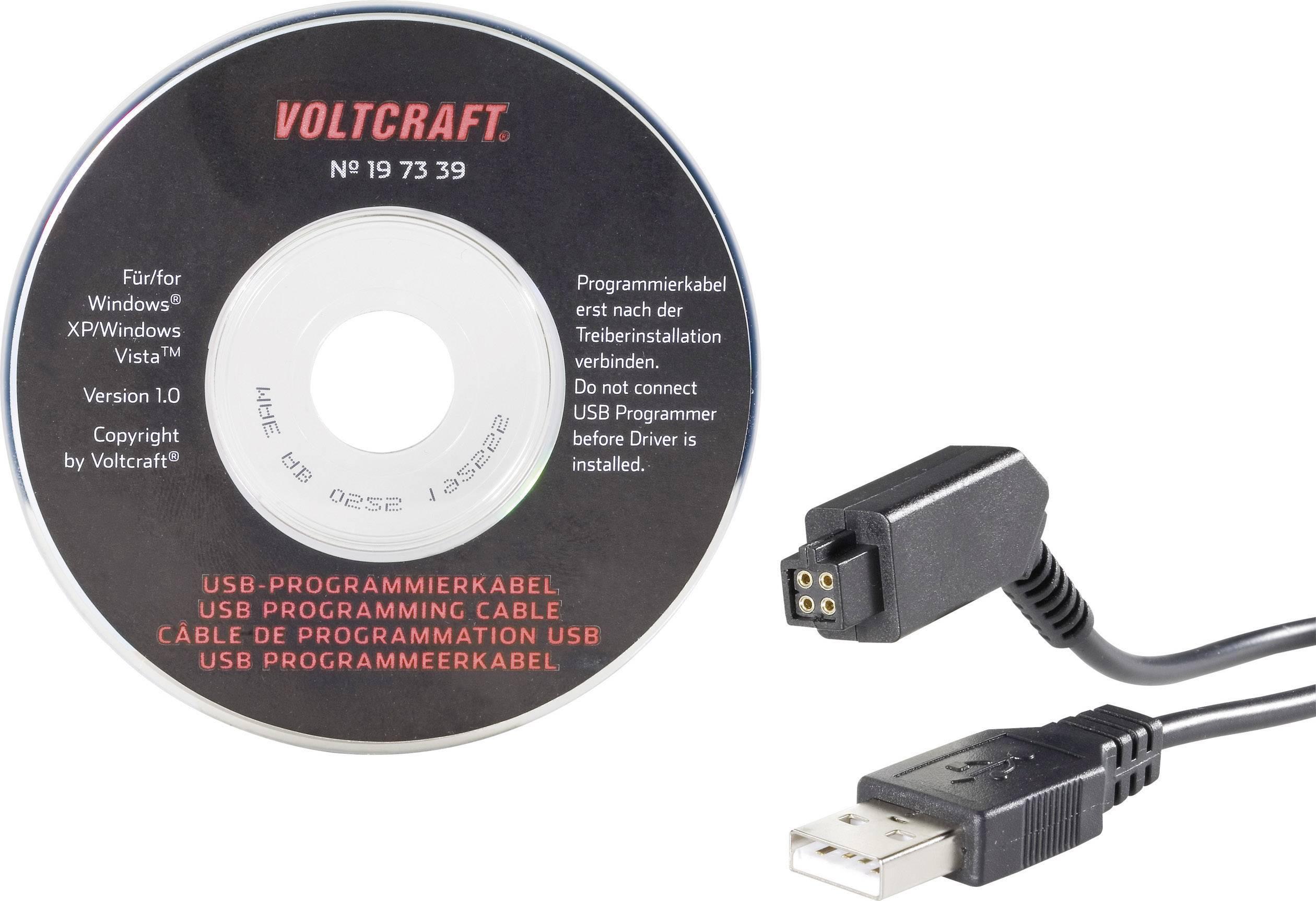 Programovací USB kabel 180 cm USB 1.1/2.0 100 mA Voltcraft